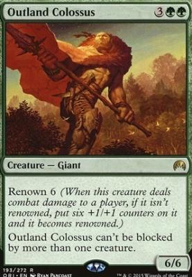 Magic Origins: Outland Colossus
