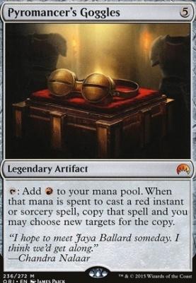 Magic Origins: Pyromancer's Goggles