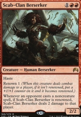 Magic Origins Foil: Scab-Clan Berserker
