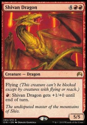 Magic Origins: Shivan Dragon