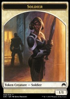 Magic Origins: Soldier Token