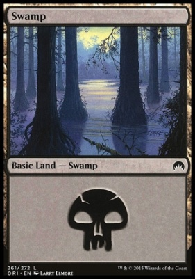 Magic Origins Foil: Swamp (261 A)