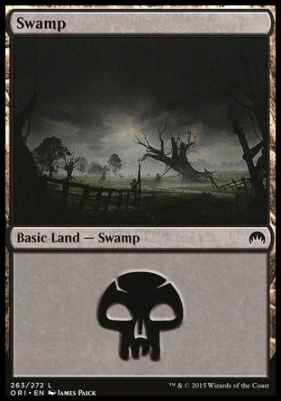 Magic Origins Foil: Swamp (263 C)