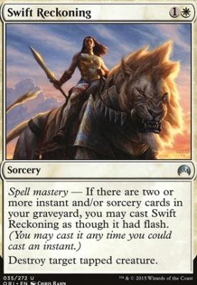 Magic Origins Foil: Swift Reckoning