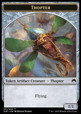 Magic Origins: Thopter Token (11 B)