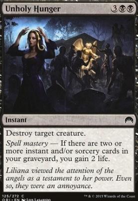 Magic Origins Foil: Unholy Hunger