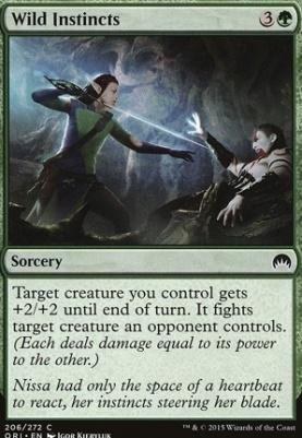 Magic Origins Foil: Wild Instincts