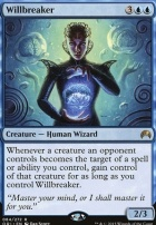 Magic Origins Foil: Willbreaker
