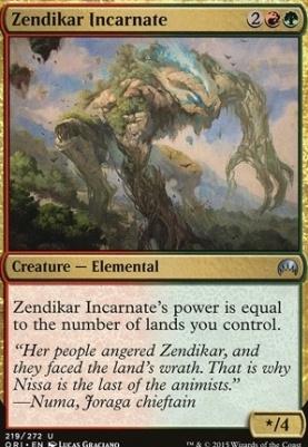 Magic Origins: Zendikar Incarnate