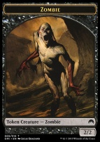 Magic Origins: Zombie Token