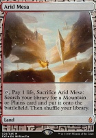 Masterpiece Series: Expeditions: Arid Mesa (BFZ Expeditions Foil)