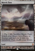 Masterpiece Series: Expeditions: Marsh Flats (BFZ Expeditions Foil)