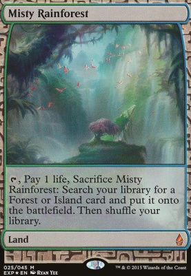 Masterpiece Series: Expeditions: Misty Rainforest (BFZ Expeditions Foil)