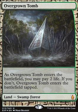 Masterpiece Series: Expeditions: Overgrown Tomb (BFZ Expeditions Foil)