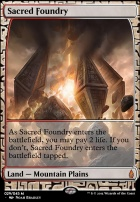 Masterpiece Series: Expeditions: Sacred Foundry (BFZ Expeditions Foil)
