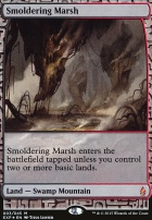 Masterpiece Series: Expeditions: Smoldering Marsh (BFZ Expeditions Foil)