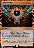 Masterpiece Series: Inventions: Chrome Mox (KLD)