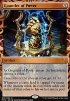 Masterpiece Series: Inventions: Gauntlet of Power (KLD)