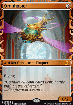 Masterpiece Series: Inventions: Ornithopter (AER)