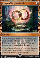 Masterpiece Series: Inventions: Rings of Brighthearth (KLD)