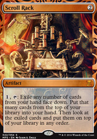 Masterpiece Series: Inventions: Scroll Rack (KLD)