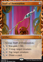 Masterpiece Series: Inventions: Staff of Domination (AER)
