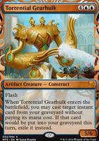 Masterpiece Series: Inventions: Torrential Gearhulk (KLD)