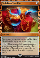 Masterpiece Series: Inventions: Vedalken Shackles (AER)