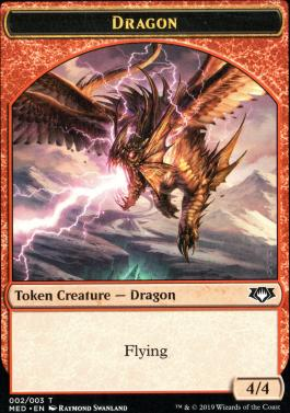 Masterpiece Series: Mythic Edition: Dragon Token