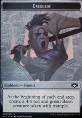 Masterpiece Series: Mythic Edition: Emblem (Domri)