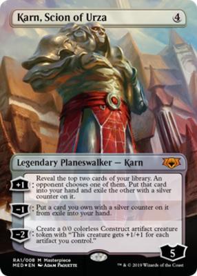 Masterpiece Series: Mythic Edition: Karn, Scion of Urza