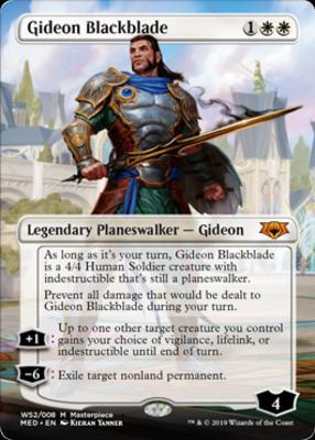 Masterpiece Series: Mythic Edition: Gideon Blackblade