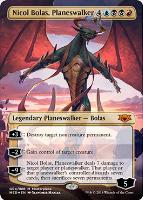 Masterpiece Series: Mythic Edition: Nicol Bolas, Planeswalker