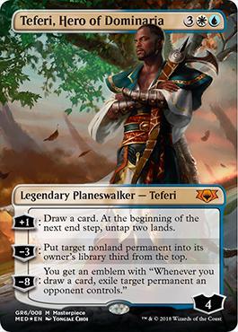 Masterpiece Series: Mythic Edition: Teferi, Hero of Dominaria