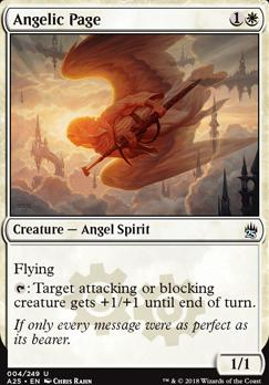Masters 25 Foil: Angelic Page