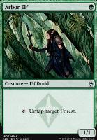 Masters 25 Foil: Arbor Elf