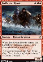 Masters 25 Foil: Balduvian Horde