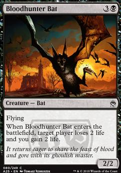 Masters 25 Foil: Bloodhunter Bat