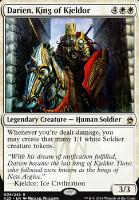 Masters 25 Foil: Darien, King of Kjeldor