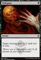 Masters 25: Disfigure