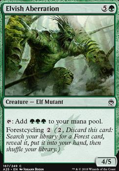 FOIL NEW - MTG Masters 25 Arbor Elf