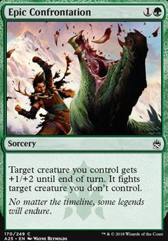 Masters 25: Epic Confrontation