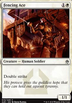 Masters 25: Fencing Ace