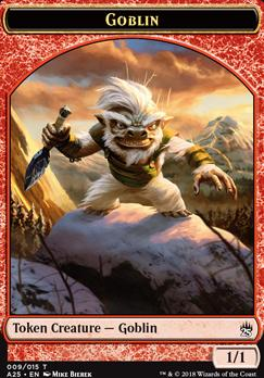 Masters 25: Goblin Token