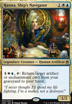 Masters 25: Hanna, Ship's Navigator