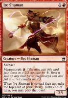 Masters 25 Foil: Ire Shaman