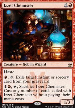 Masters 25 Foil: Izzet Chemister