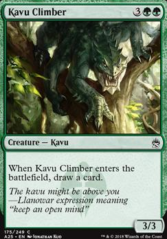 Masters 25: Kavu Climber