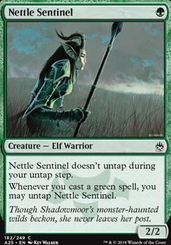 Masters 25: Nettle Sentinel