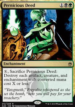 Masters 25: Pernicious Deed